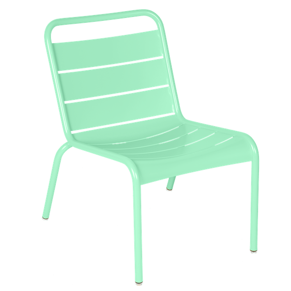 Luxembourg Lounge Chair in Opaline Green