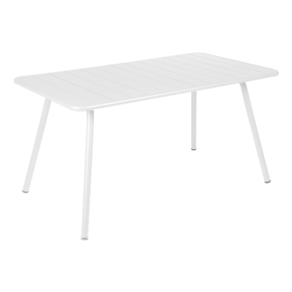 Fermob Luxembourg Table 143 x 80cm in Cotton White