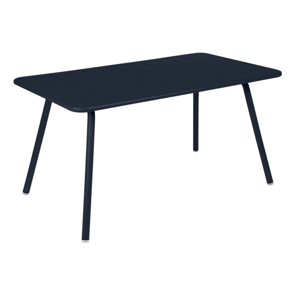 Fermob Luxembourg Table 143 x 80cm in Deep Blue