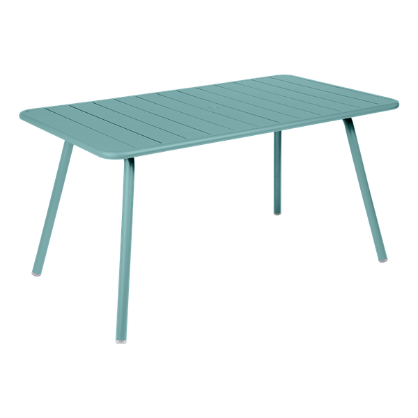 Fermob Luxembourg Table 143 x 80cm in Lagoon Blue