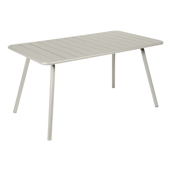 Fermob Luxembourg Table 143 x 80cm in Clay Grey