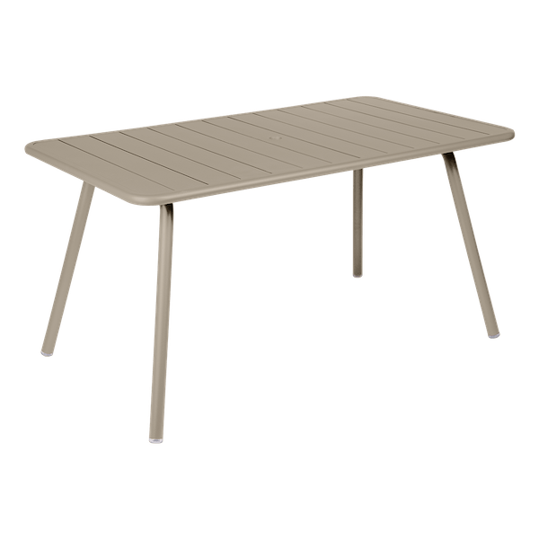 Fermob Luxembourg Table 143 x 80cm in Nutmeg