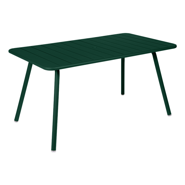 Fermob Luxembourg Table 143 x 80cm in Cedar Green