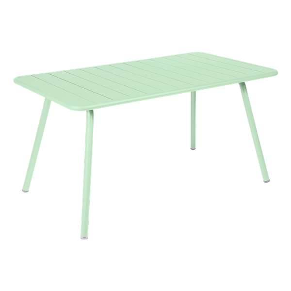 Fermob Luxembourg Table 143 x 80cm in Opaline Green