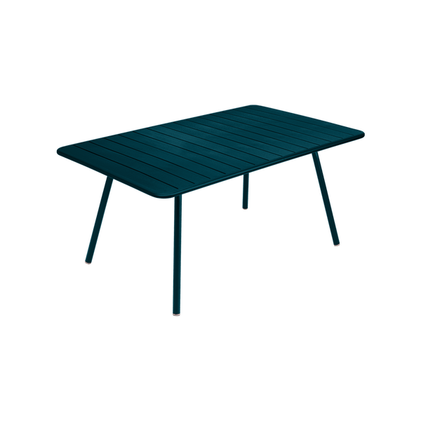 Fermob Luxembourg Table 165 x 100cm in Acapulco Blue