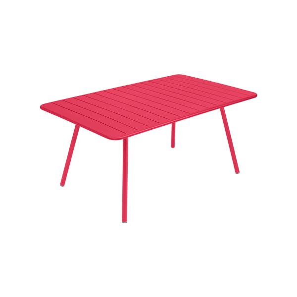 Fermob Luxembourg Table 165 x 100cm in Pink Praline