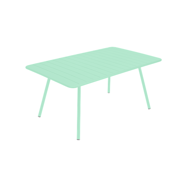 Fermob Luxembourg Table 165 x 100cm in Opaline Green