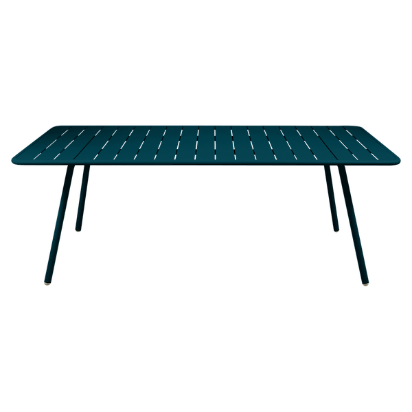 Fermob Luxembourg Table 207 x 100cm in Acapulco Blue