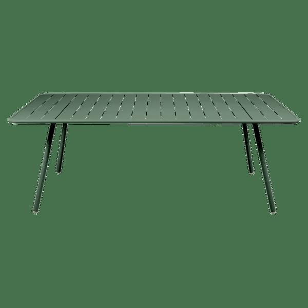 Fermob Luxembourg Table 207 x 100cm in Cedar Green