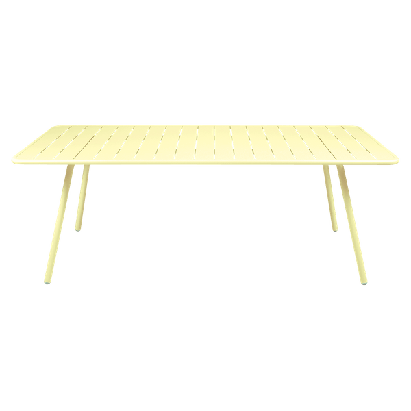 Fermob Luxembourg Table 207 x 100cm in Frosted Lemon