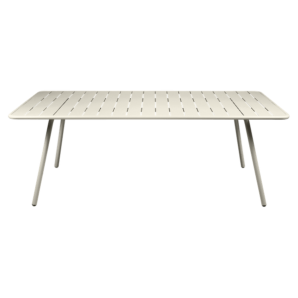 Fermob Luxembourg Table 207 x 100cm in Clay Grey