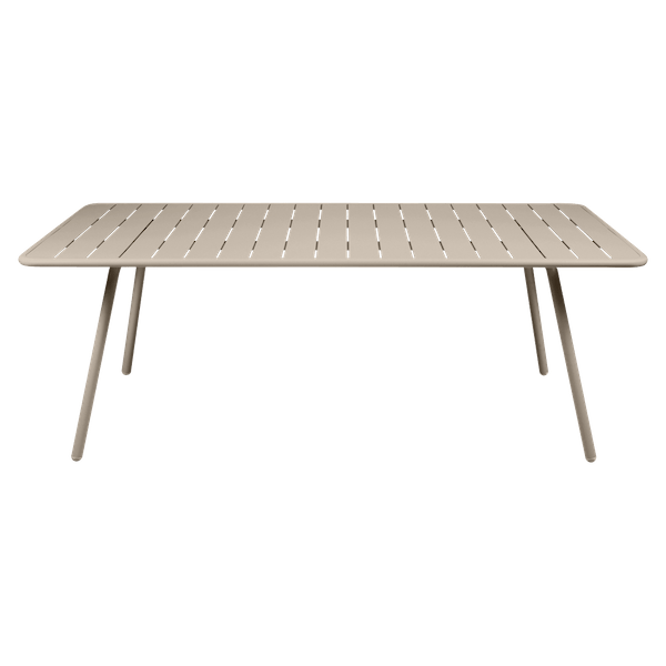 Fermob Luxembourg Table 207 x 100cm in Nutmeg