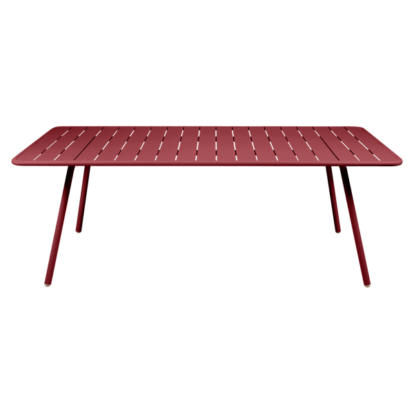 Fermob Luxembourg Table 207 x 100cm in Chilli