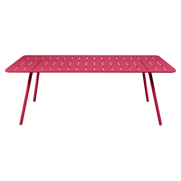 Fermob Luxembourg Table 207 x 100cm in Pink Praline