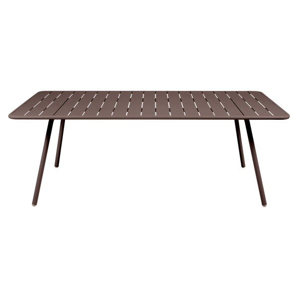 Fermob Luxembourg Table 207 x 100cm in Russet