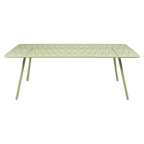 Fermob Luxembourg Table 207 x 100cm in Willow Green
