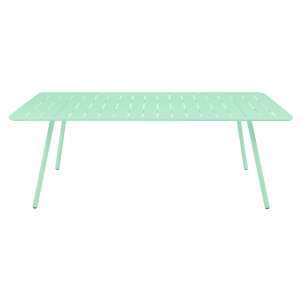 Fermob Luxembourg Table 207 x 100cm in Opaline Green