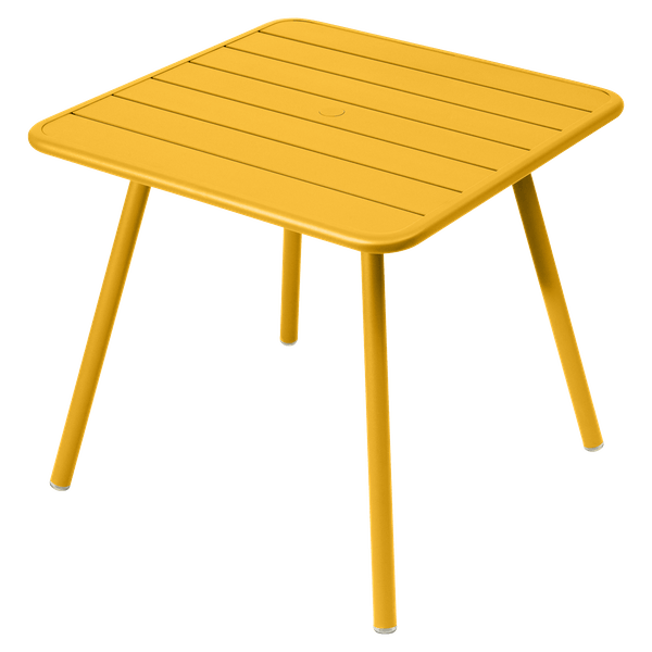 Fermob Luxembourg Table 80cm x 80cm in Honey