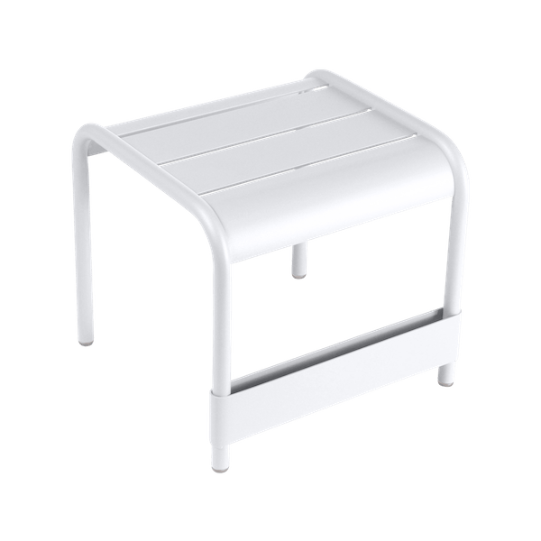 Fermob Luxembourg Small Low Table in Cotton White