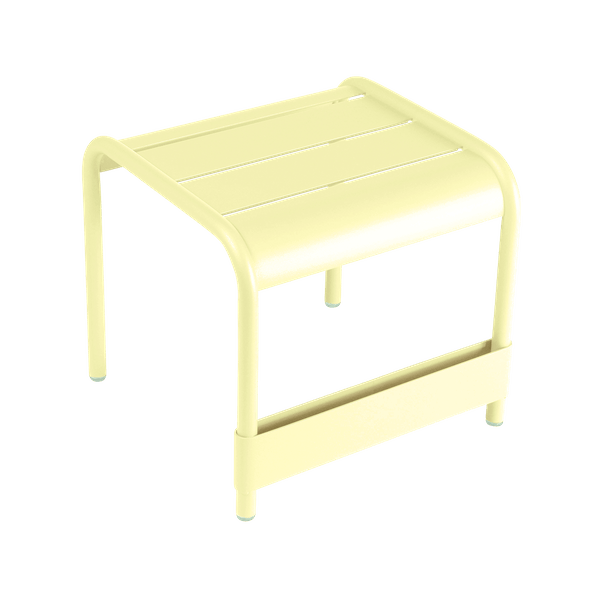 Fermob Luxembourg Small Low Table in Frosted Lemon
