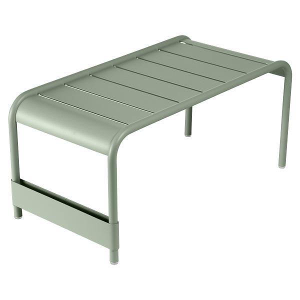 Fermob Luxembourg Large Low Table And Garden Bench in Cactus