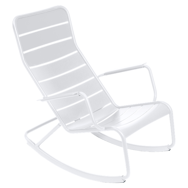 Fermob Luxembourg Rocking Chair in Cotton White