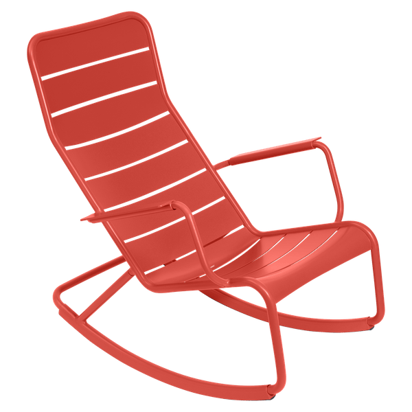 Fermob Luxembourg Rocking Chair in Capucine