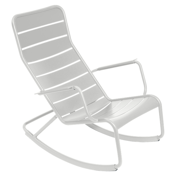 Fermob Luxembourg Rocking Chair in Steel Grey