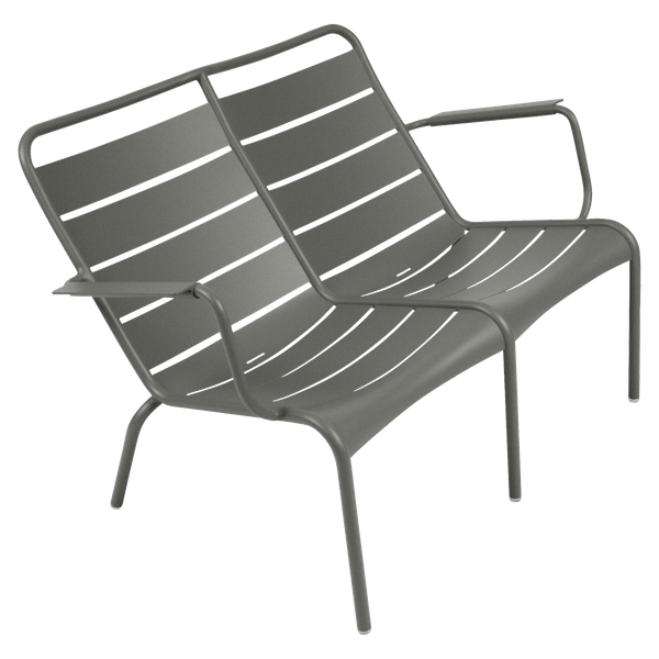 Fermob Luxembourg Low Armchair Duo in Rosemary