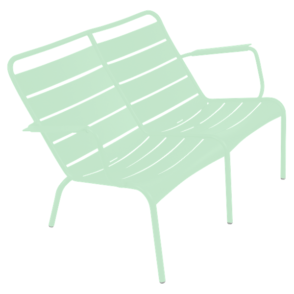 Fermob Luxembourg Low Armchair Duo in Opaline Green