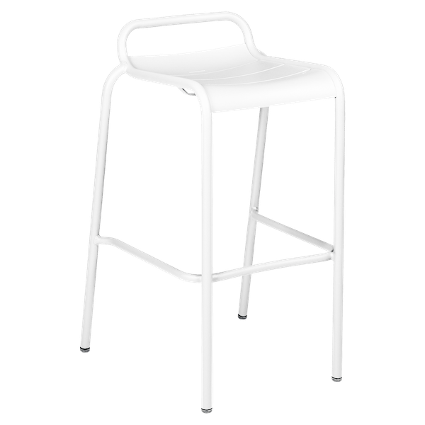 Luxembourg Bar Stool in Cotton White
