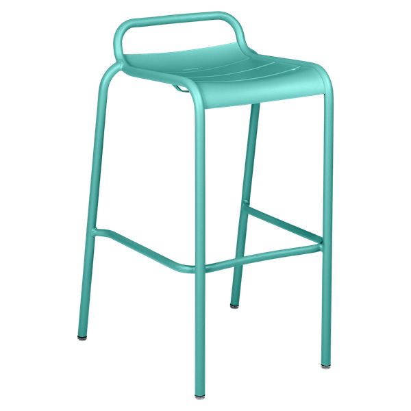 Luxembourg Bar Stool in Lagoon Blue