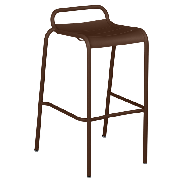 Luxembourg Bar Stool in Russet