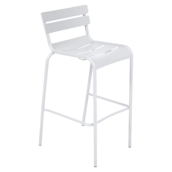 Fermob Luxembourg Bar Chair in Cotton White