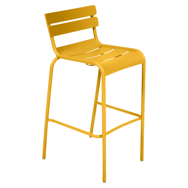 Fermob Luxembourg Bar Chair in Honey