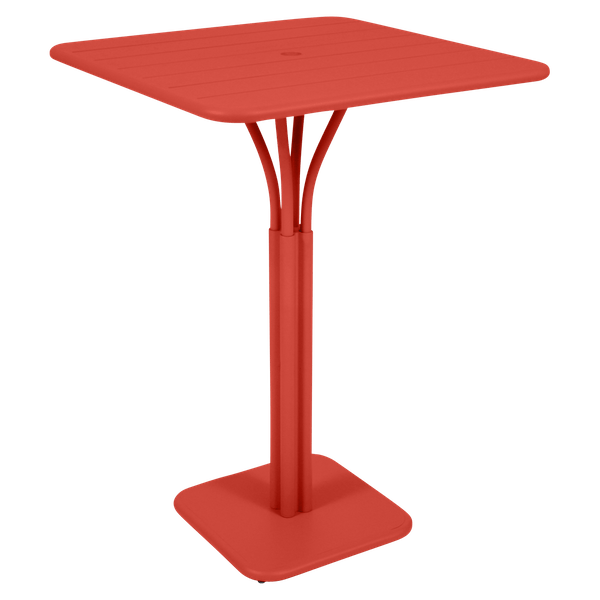 Fermob Luxembourg High Table in Capucine