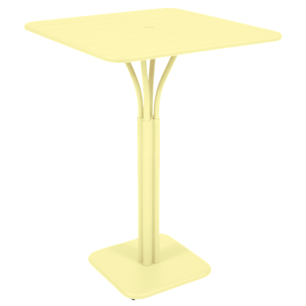 Fermob Luxembourg High Table in Frosted Lemon