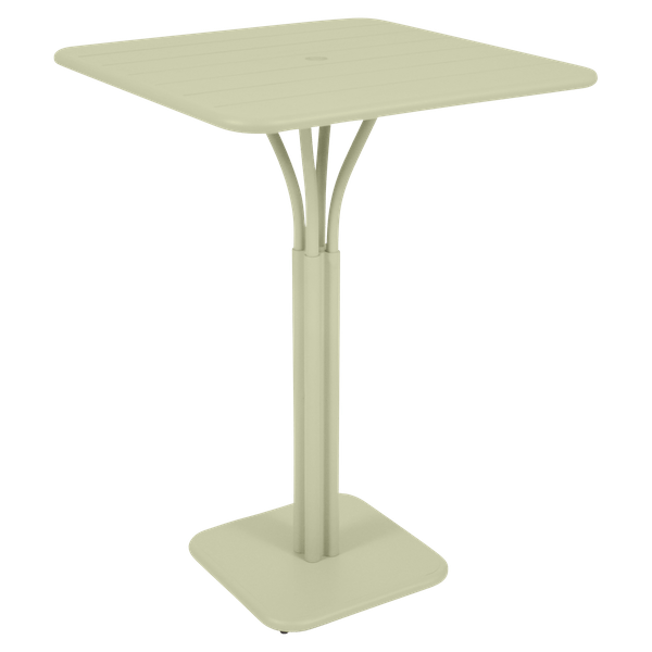 Fermob Luxembourg High Table in Willow Green