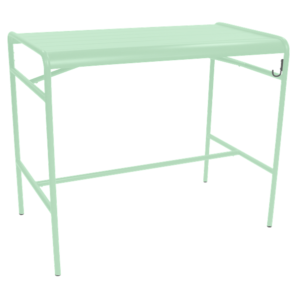 Fermob Luxembourg High Table 126 x 73cm in Opaline Green