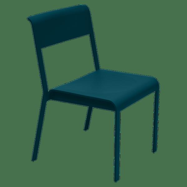 Fermob Bellevie Chair in Acapulco Blue
