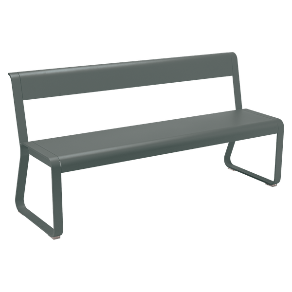 Fermob Bellevie Bench with Back in Rosemary