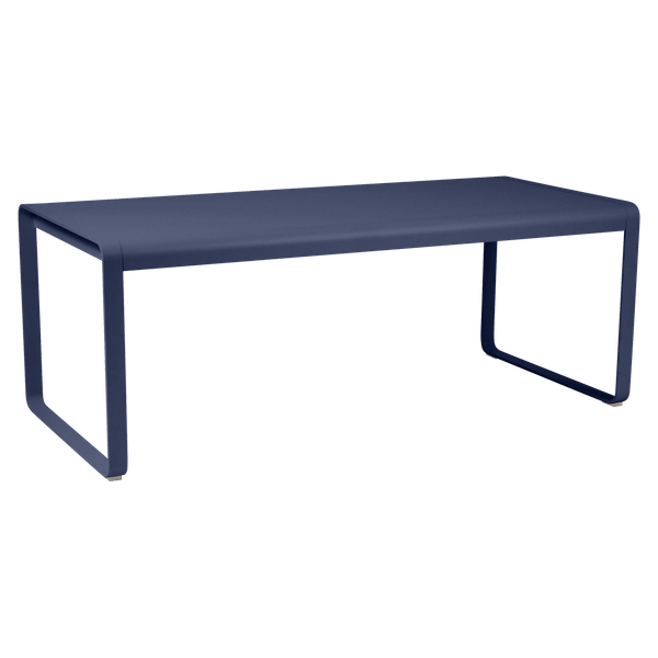 Fermob Bellevie Table 196 x 90cm in Deep Blue