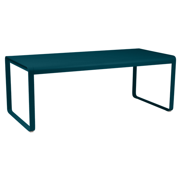 Fermob Bellevie Table 196 x 90cm in Acapulco Blue
