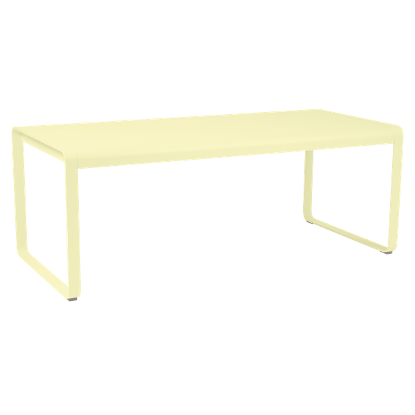 Fermob Bellevie Table 196 x 90cm in Frosted Lemon