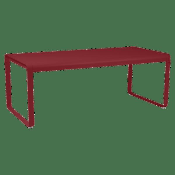 Fermob Bellevie Table 196 x 90cm in Chilli