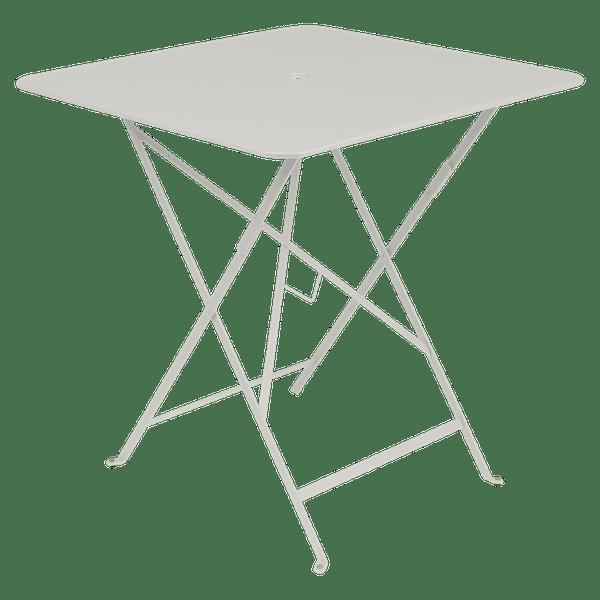 Fermob Bistro Table Square 71 x 71cm in Clay Grey
