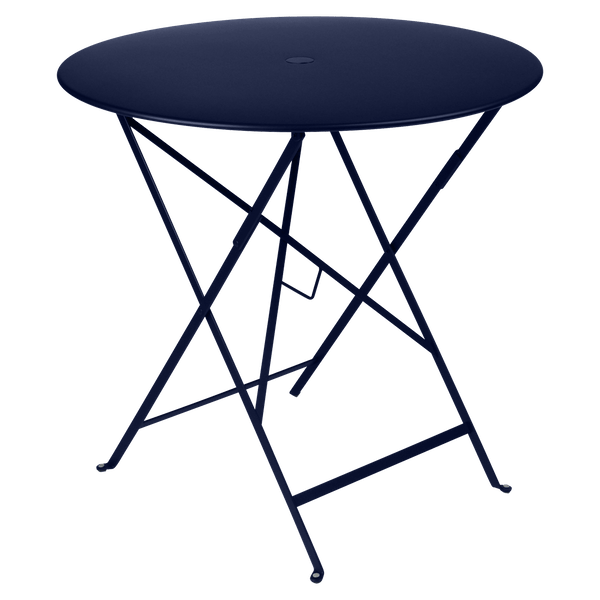 Fermob Bistro Table Round 77cm in Deep Blue