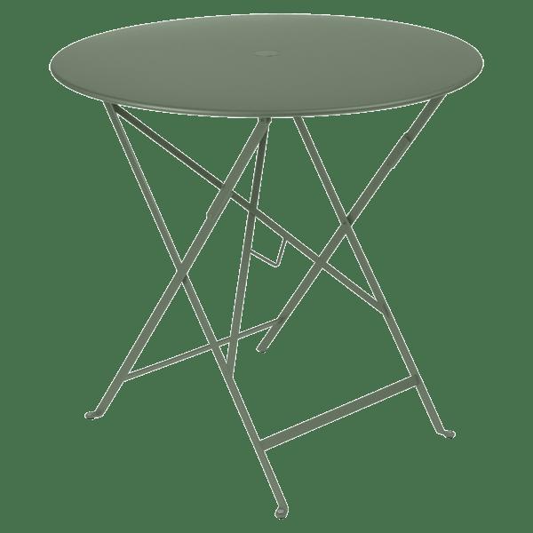 Fermob Bistro Table Round 77cm in Cactus