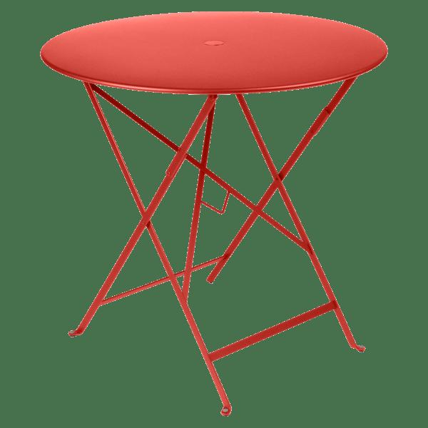 Fermob Bistro Table Round 77cm in Capucine