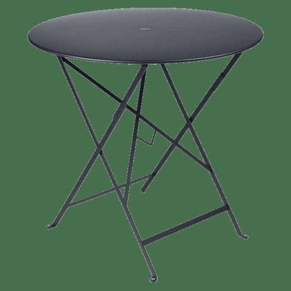 Fermob Bistro Table Round 77cm in Anthracite